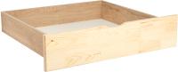 Ящик под кровать Мебельград Соня (прозрачный лак) -