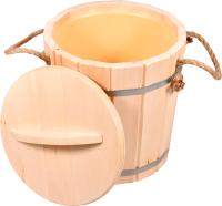 Ведро деревянное Банные Штучки 03710 -