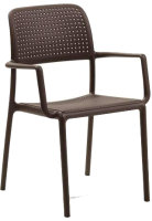 Стул пластиковый Nardi Bora / 4024205000 (коричневый) -