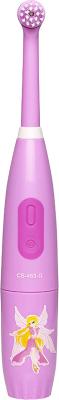 Электрическая зубная щетка CS Medica KIDS CS-463-G cs toys пистолет пневматика металлический 15 см с глушителем g 3a cs g3a