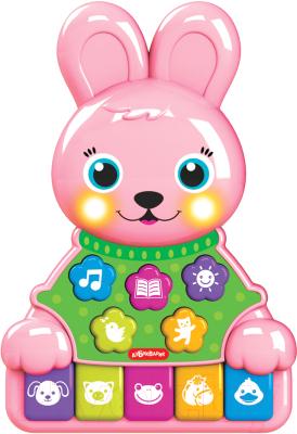 Развивающая игрушка Азбукварик Музыкальные зверята. Зайчик / AZ-2524 недорого