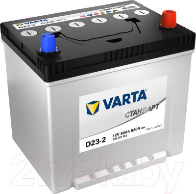 Автомобильный аккумулятор Varta Стандарт 60 JR / 560301052