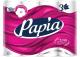 Туалетная бумага Papia Белая 3х слойная (12рул) -