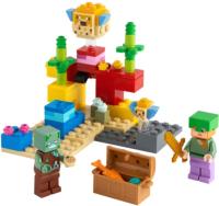 Конструктор Lego Minecraft Коралловый риф / 21164 -
