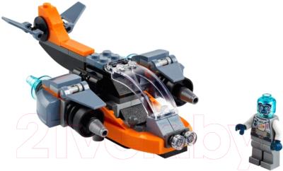 Конструктор Lego Creator Кибердрон / 31111 конструктор lego creator 40460 розы