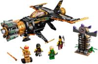 Конструктор Lego Ninjago Скорострельный истребитель Коула / 71736 -