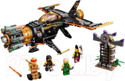 Фото - Конструктор Lego Ninjago Скорострельный истребитель Коула / 71736 конструктор lego ninjago 70599 дракон коула