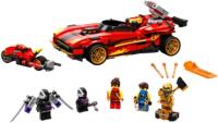 Конструктор Lego Ninjago Ниндзя-перехватчик Х-1 / 71737 -