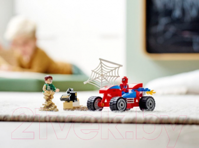 Конструктор Lego Super Heroes Бой Человека-Паука с Песочным Человеком / 76172