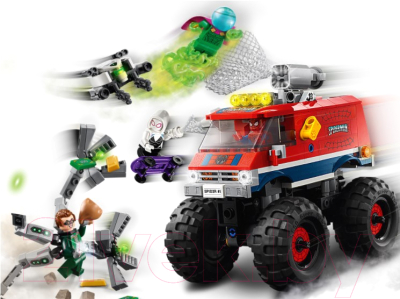 Конструктор Lego Super Heroes Монстр-трак Человека-Паука против Мистерио / 76174