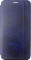 Чехол-книжка Digitalpart Leather Book Cover для Redmi Note 9S/Note 9 Pro (синий) -