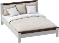Каркас кровати Мебельград Даллас 140x200 (дуб винтерберг/таксония) -