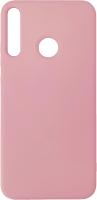 Чехол-накладка Digitalpart Silicone Case для Huawei P40 lite E (розовый) -