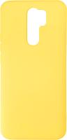 Чехол-накладка Digitalpart Silicone Case для Redmi 9 (желтый) -