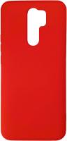 Чехол-накладка Digitalpart Silicone Case для Redmi 9 (красный) -