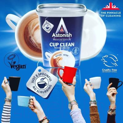 Средство для мытья посуды Astonish Premium Edition Cup Clean для мытья чашек / C9630 (350г)