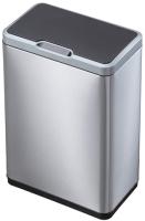 Сенсорное мусорное ведро EKO EK9278 (80л, матовая сталь) -