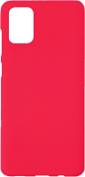 Чехол-накладка Digitalpart Silicone Case для Galaxy A71 (красный) -
