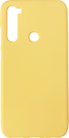 Чехол-накладка Digitalpart Silicone Case для Redmi Note 8 (желтый) -