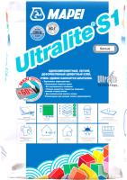 Клей для плитки Mapei Ultralite S1 (15кг, белый) -
