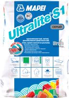 Клей для плитки Mapei Ultralite S1 (15кг, серый) -