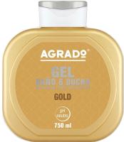 Гель для душа Agrado Bath Gel Gold (750мл) -
