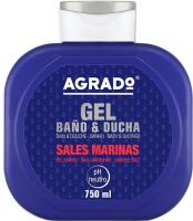 Гель для душа Agrado Bath Gel Marine Salts (750мл) -