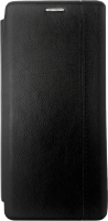 Чехол-книжка Digitalpart Leather Book Cover для Galaxy A71 (черный) -
