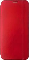 Чехол-книжка Digitalpart Leather Book Cover для Redmi 9С (красный) -