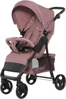 Детская прогулочная коляска Carrello Quattro / CRL-8502/3 (Vanilla Pink) -