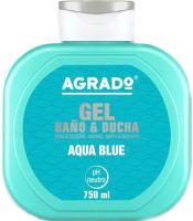Гель для душа Agrado Bath Gel Aqua Blue (750мл) -