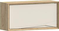 Шкаф навесной WellMaker Куб ПВ2-100 (аризона/снежный) -