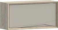Шкаф навесной WellMaker Куб ПВ2-100 (монтана/кварцевый) -