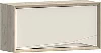 Шкаф навесной WellMaker Куб ПВ2-100 (монтана/снежный) -