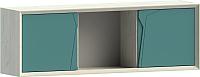 Шкаф навесной WellMaker Куб ПВн-150 (аляска/морской) -