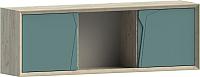 Шкаф навесной WellMaker Куб ПВн-150 (монтана/морской) -