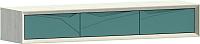 Шкаф навесной WellMaker Куб ПН-150 (аляска/морской) -
