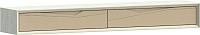 Шкаф навесной WellMaker Куб ПН2-200 (аляска/песочный) -