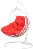 Кресло подвесное BiGarden Gemini White (двойной) -