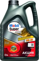 Моторное масло Mobil Super 3000 Х1 5W40 / 156154 (5л) -