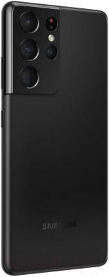 Смартфон Samsung Galaxy S21 Ultra 512GB / SM-G998BZKHSER (черный фантом)