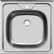 Мойка кухонная Ukinox STD500.500 4C 0C (с сифоном) -