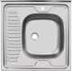 Мойка кухонная Ukinox STD600.600 4C 0R (с сифоном) -