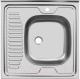 Мойка кухонная Ukinox STD600.600 5C 0R (с сифоном) -