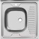Мойка кухонная Ukinox STD600.600 5C 0L (с сифоном) -