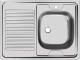 Мойка кухонная Ukinox STD800.600 5C 0RS (с сифоном) -