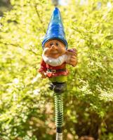 Садовая фигура-светильник Чудесный Сад 681-B Гном в синем колпаке -