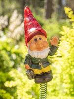 Садовая фигура-светильник Чудесный Сад 681-R Гном в красном колпаке -