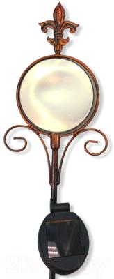 Садовая фигура-светильник Чудесный Сад 698 Свет мой зеркальце садовая фигура щенок с клубникой 20 х16 см 6255372