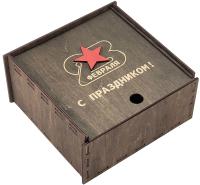 Коробка подарочная Woodstrong 3075 (25x25x10) -